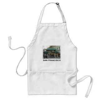 San Francisco China Town Adult Apron