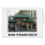 San Francisco China Town Card
