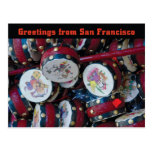 San Francisco China town postcard