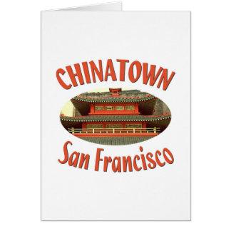 San Francisco Chinatown Card