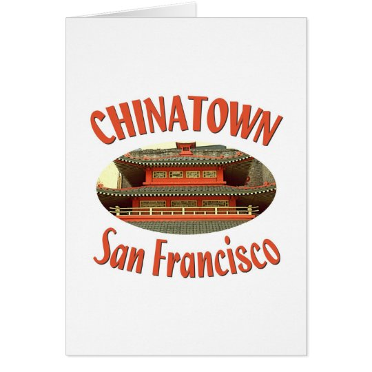 San Francisco Chinatown Card