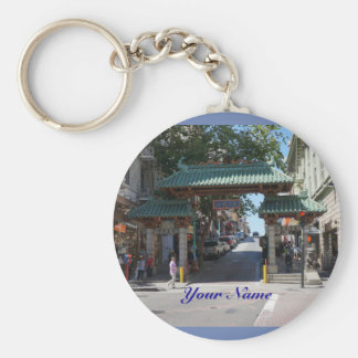 San Francisco Chinatown Gate Keychain