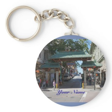 everydaylifesf San Francisco Chinatown Gate Keychain