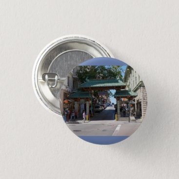 everydaylifesf San Francisco Chinatown Gate Pinback Button