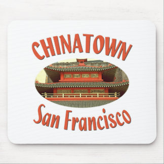 San Francisco Chinatown Mouse Pad