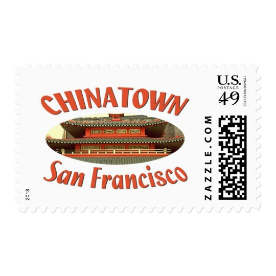 San Francisco Chinatown Postage
