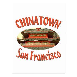San Francisco Chinatown Postales