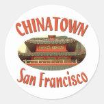 San Francisco Chinatown Sticker