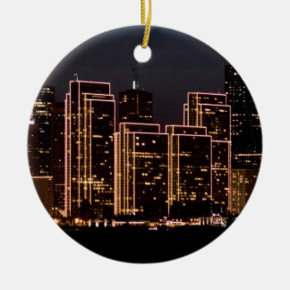 San Francisco Christmas Ceramic Ornament