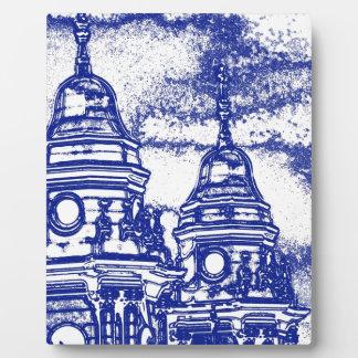 San Francisco Church in Blue Plaques