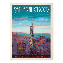 San Francisco | City By The Bay Postcard