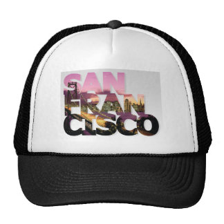 San Francisco City Design Trucker Hat