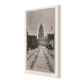 San Francisco City Hall from 8th St Canvas Print