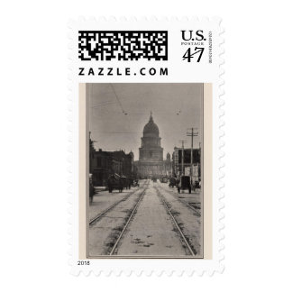 San Francisco City Hall from 8th St Postage Stamp