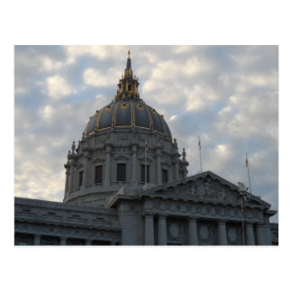 San Francisco City Hall Post Card