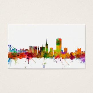San Francisco City Skyline Business Card