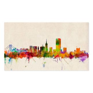 San Francisco City Skyline Business Card Template