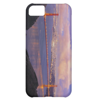 San Francisco City Skyline with Golden Gate Bridge Cover For iPhone 5C