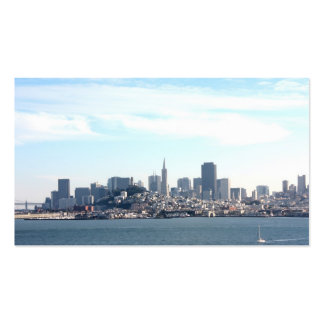 San Francisco City View from the Bay Double-Sided Standard Business Cards (Pack Of 100)