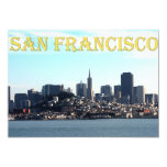San Francisco City View from the Bay 5x7 Paper Invitation Card