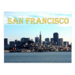San Francisco City View from the Bay Postcard