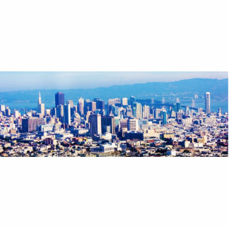 San Francisco City View Panoramic Acrylic Cut Outs
