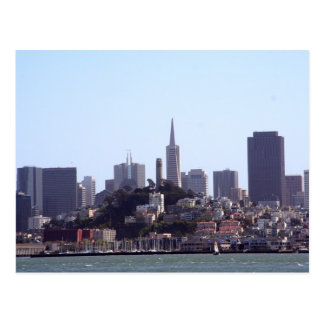 San Francisco City View Postcards