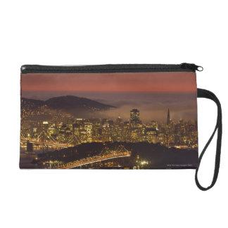 San Francisco Cityscape Wristlet