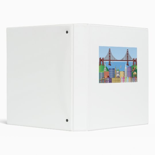 San Francisco Cityscape Binder