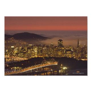San Francisco Cityscape Card