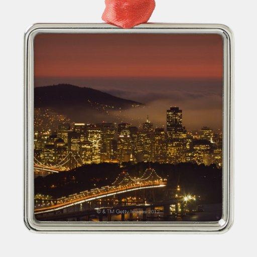 San Francisco Cityscape Ornaments