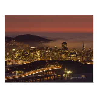 San Francisco Cityscape Postcard