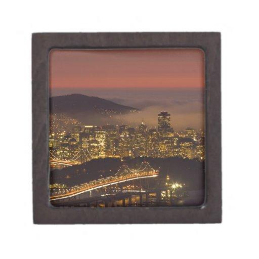 San Francisco Cityscape Premium Jewelry Box