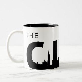 San Francisco Coffee Cup Two-Tone Coffee Mug