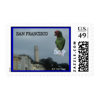 San Francisco Coit Towe #2 Stamp