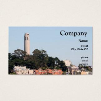 San Francisco Coit Tower Business Card