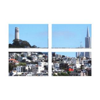 San Francisco Coit Tower Canvas Print