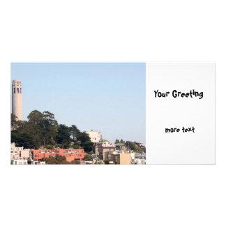 San Francisco Coit Tower Card