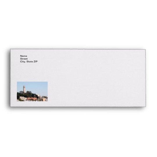 San Francisco Coit Tower Envelope