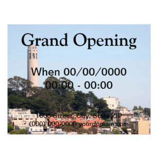 San Francisco Coit Tower Flyer