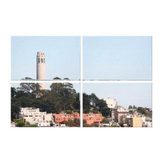 San Francisco Coit Tower Gallery Wrap Canvas
