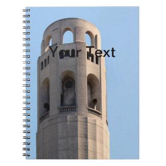 San Francisco Coit Tower Notebook