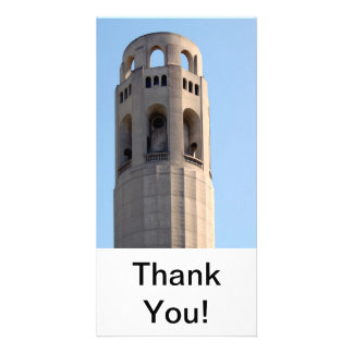 San Francisco Coit Tower Photo Greeting Card