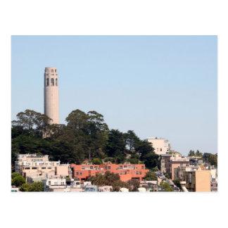San Francisco Coit Tower Postcard