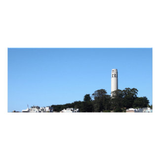 San Francisco Coit Tower Rack Card Template