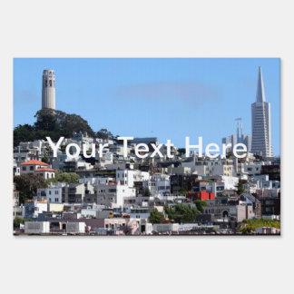 San Francisco Coit Tower Sign