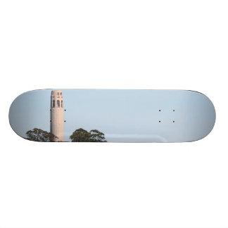 San Francisco Coit Tower Skateboard Deck