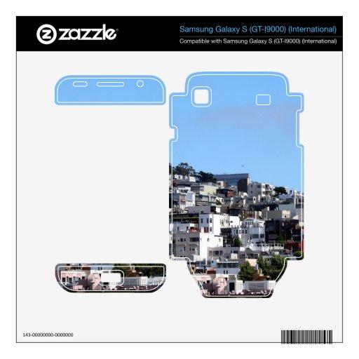San Francisco Coit Tower Skin For Samsung Galaxy S