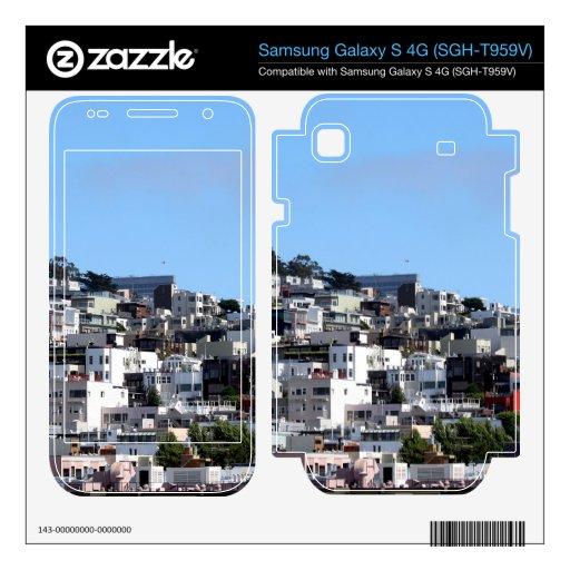 San Francisco Coit Tower Samsung Galaxy S 4G Skin