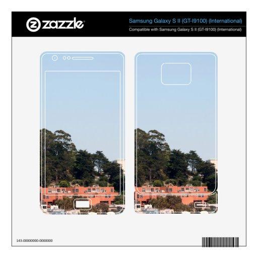 San Francisco Coit Tower Samsung Galaxy S II Skins